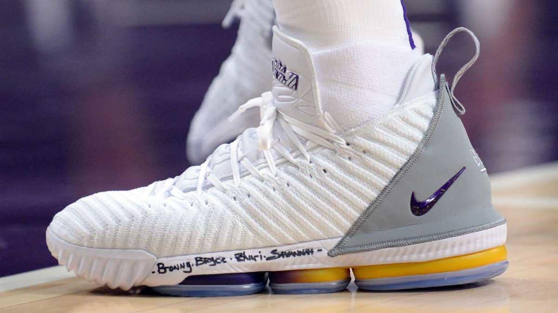 f16288b72156 Every LeBron James Sneaker 2018-2019 Season