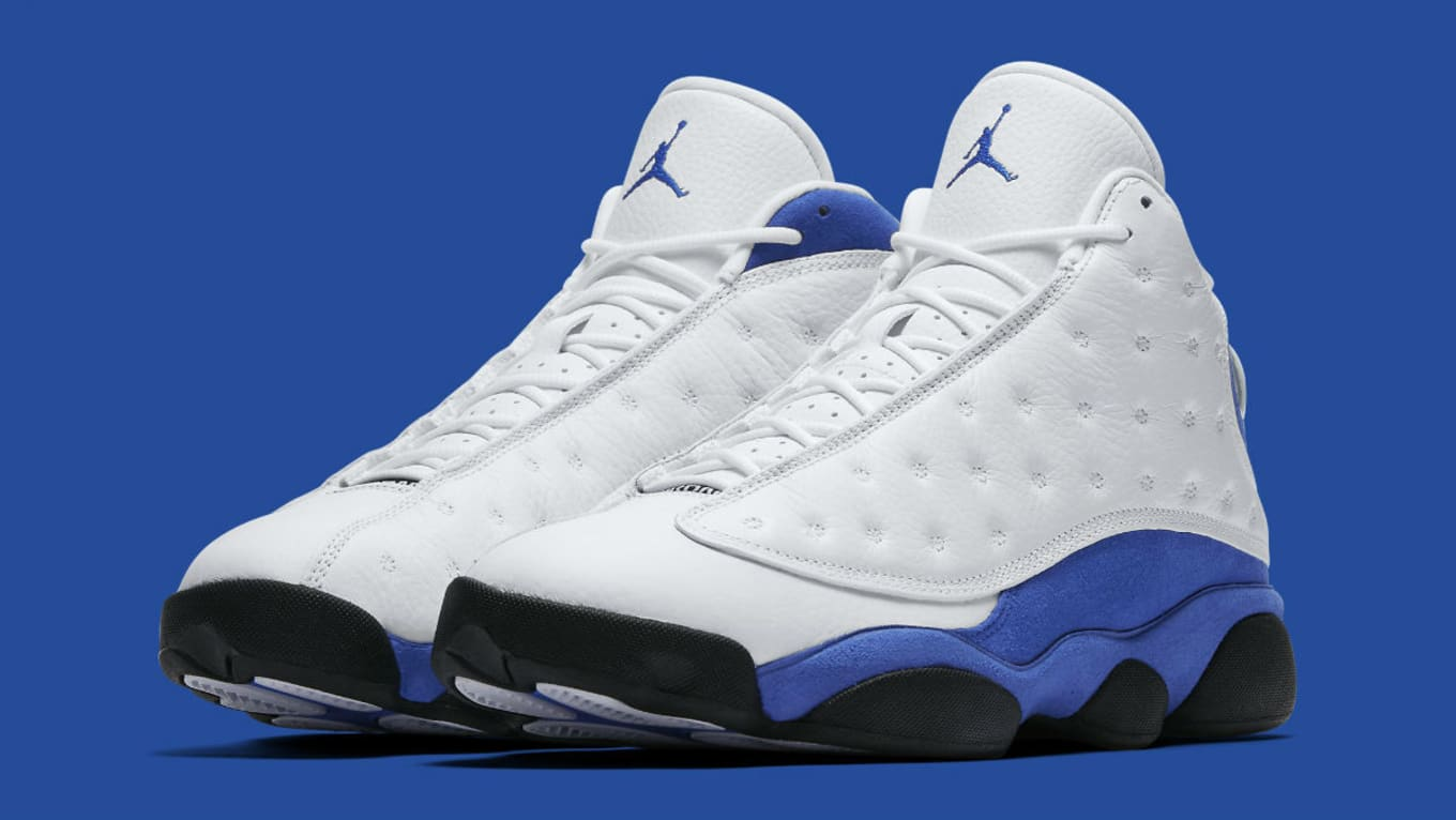 more photos df327 b11d8 Air Jordan 13 Quentin Richardson White Blue Release Date ...