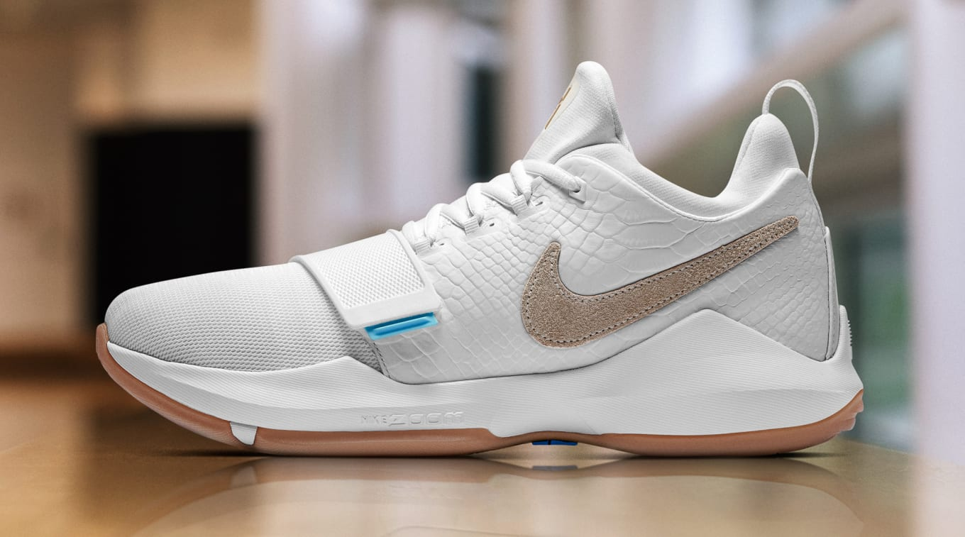 7e33fefa6998 Paul George Says His Teammates Love His Signature Shoe. George talks about  the Nike PG1.