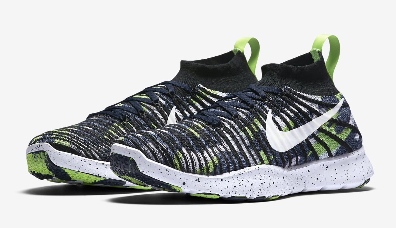 1ab3d4cdb Russell Wilson Nike Flyknit Free Train Force 840299-400 | Sole Collector