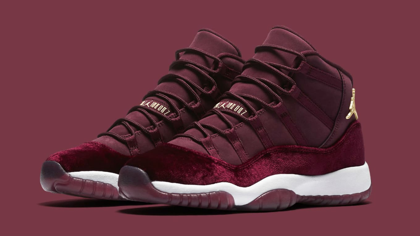 85d1ffd7695 Air Jordan 11 Velvet | Sole Collector