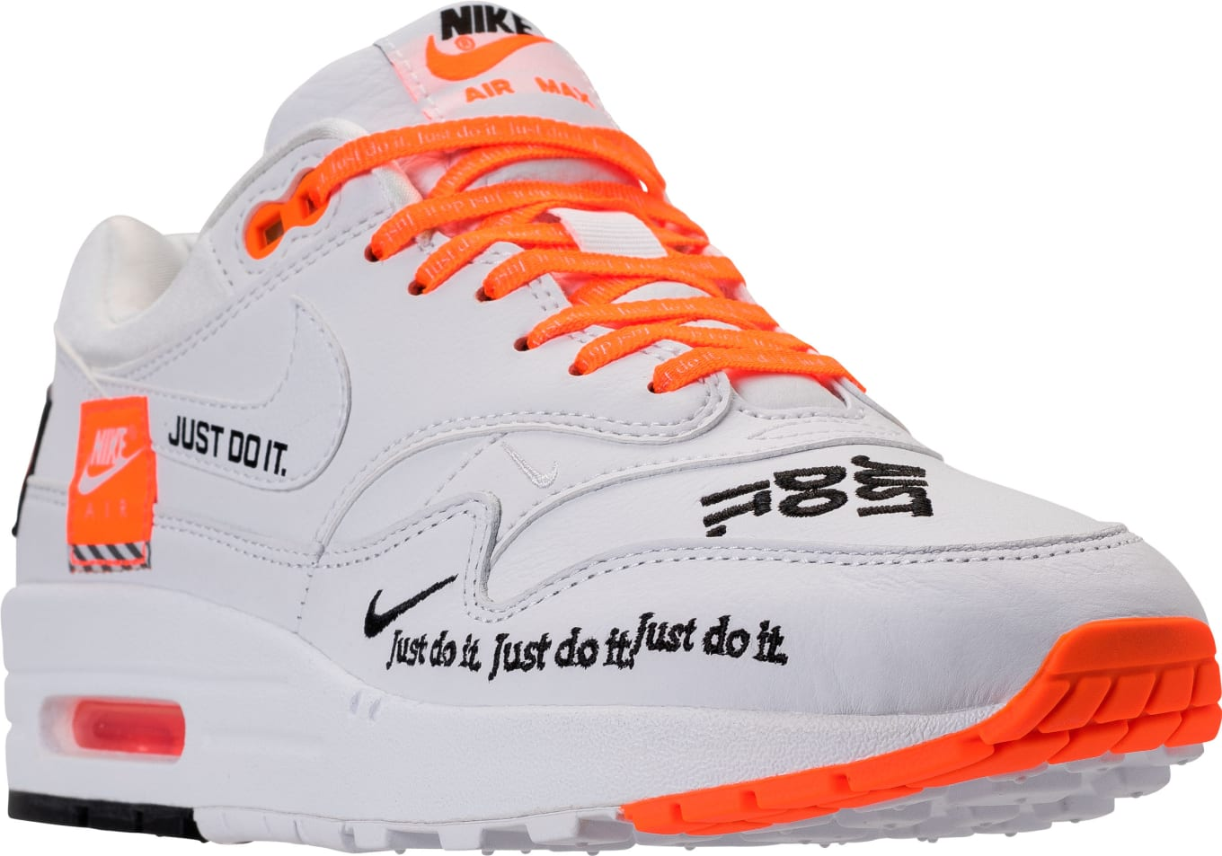 8c1b8b9acb7 Nike Air Max 1 Just Do It White Release Date 917691-100 | Sole Collector