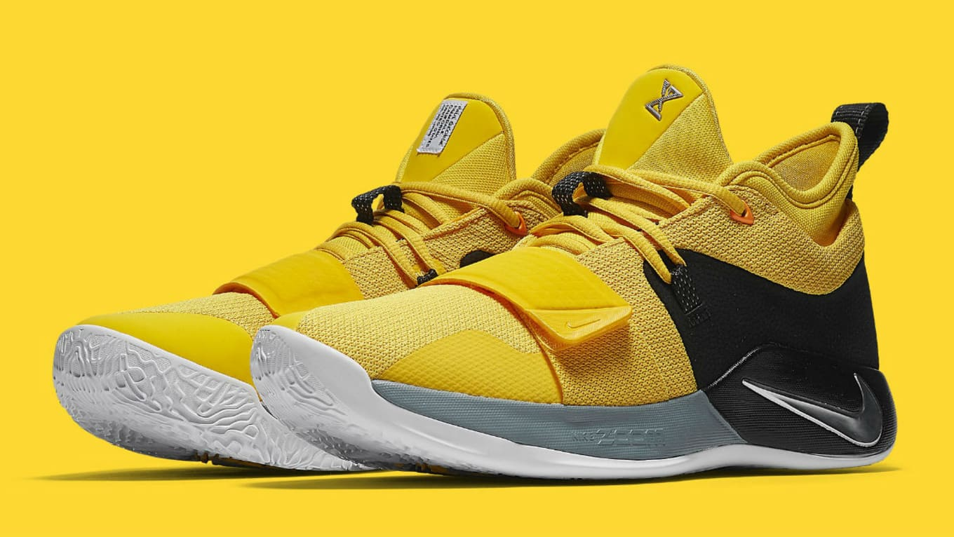 the best attitude 75217 bd496 Nike PG 2.5 Amarillo Chrome Black Release Date BQ8453-700 ...