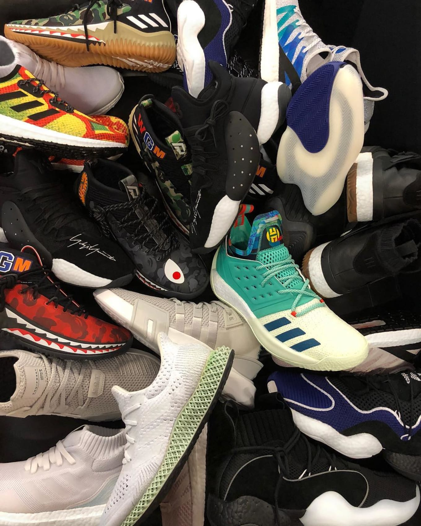 brand new 516f7 a66d2 Adidas 747 All-Star Sneaker Releases   Sole Collector