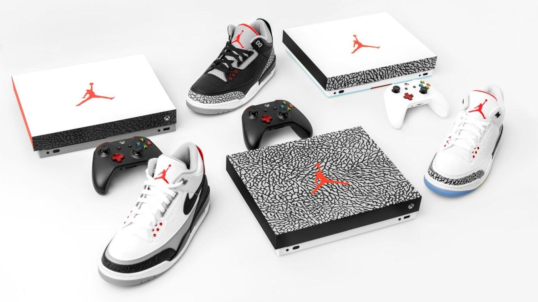 Xbox One X X Air Jordan 3 Limited Edition Console Contest