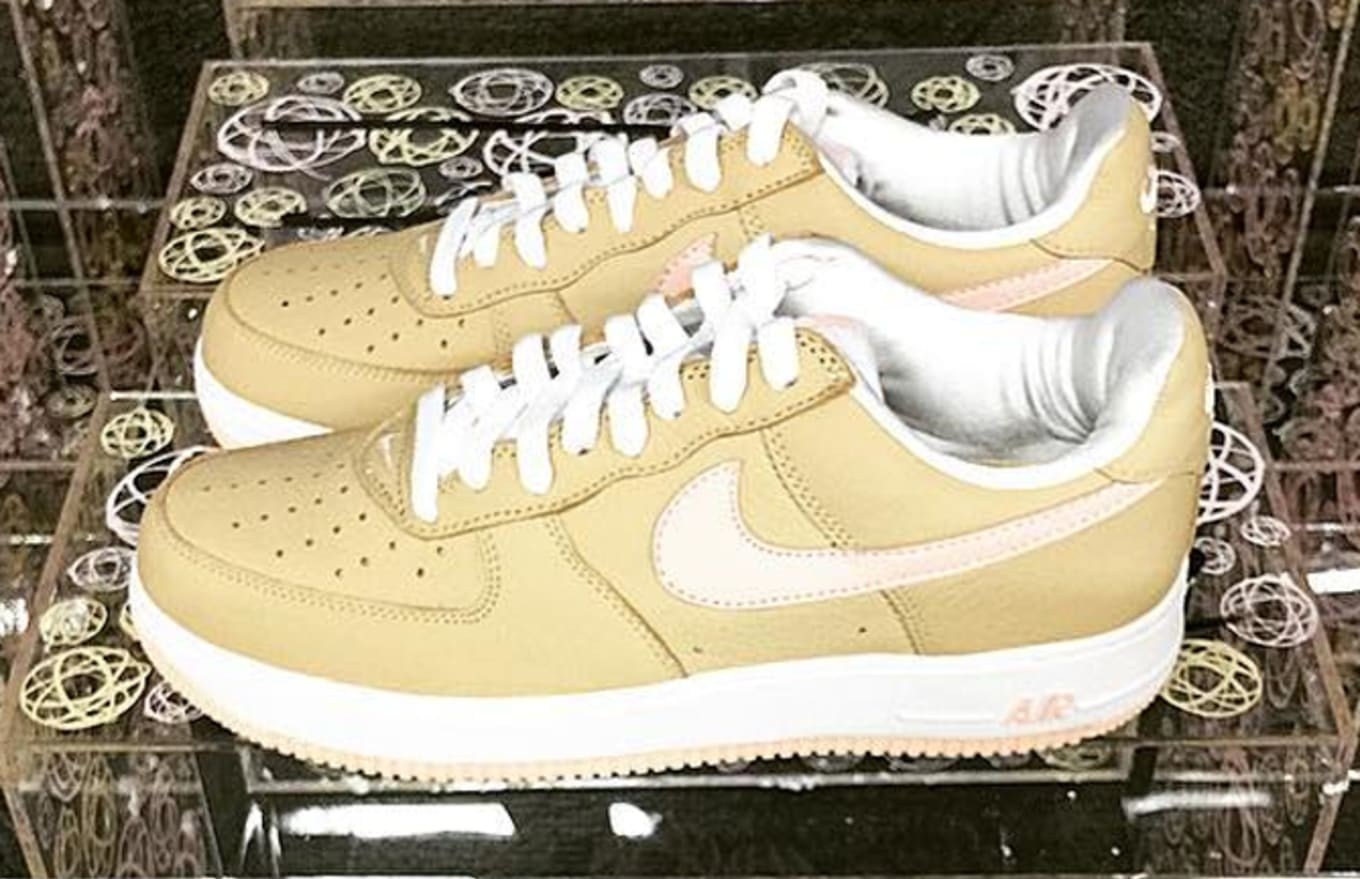 231cb0fd12c Linen Nike Air Force 1 Miami Art Basel | Sole Collector