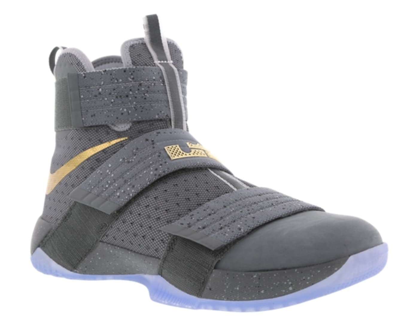 save off 217d7 63f87 Nike LeBron Soldier 10 Cool Grey Gold | Sole Collector
