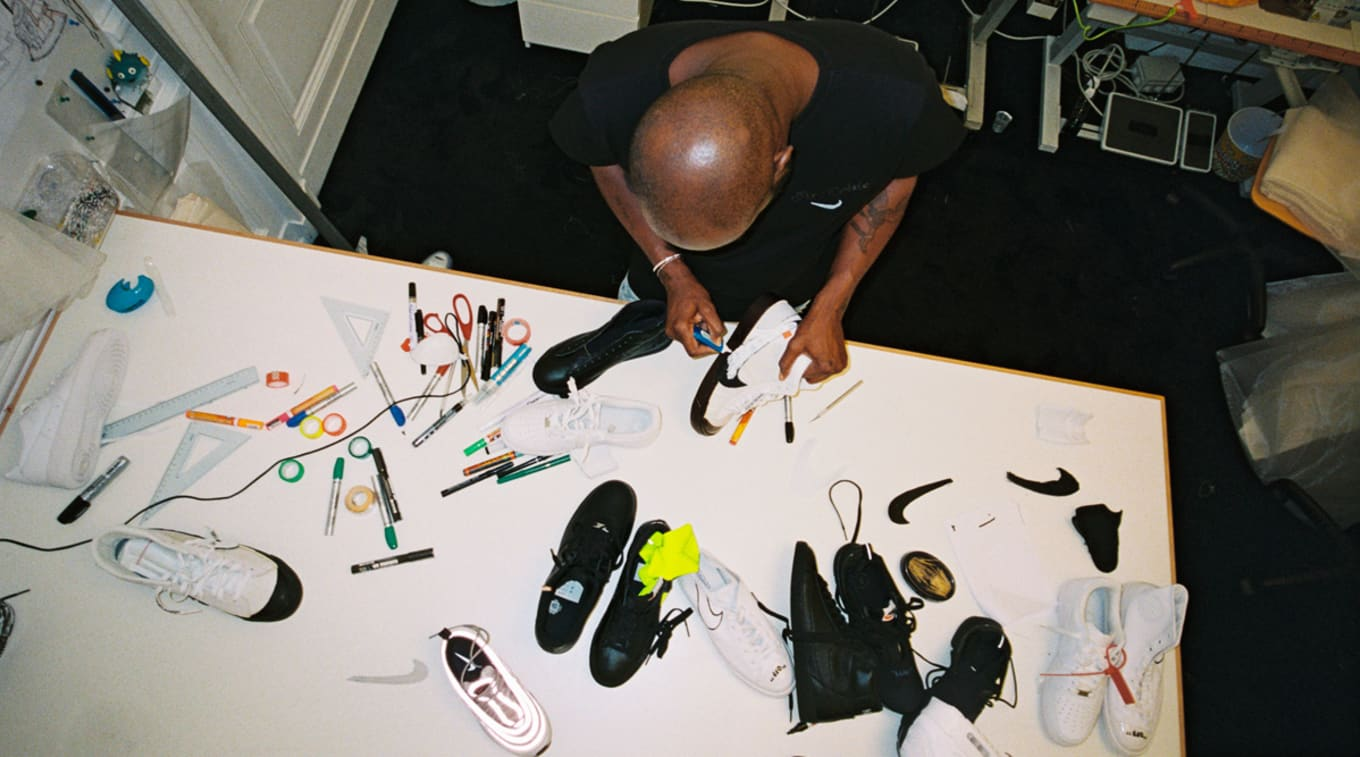 31fd9b2a6b423a Nike Unveils Virgil Abloh s  The Ten  Collaborations. See all the sneakers  from the Off-White designer here.