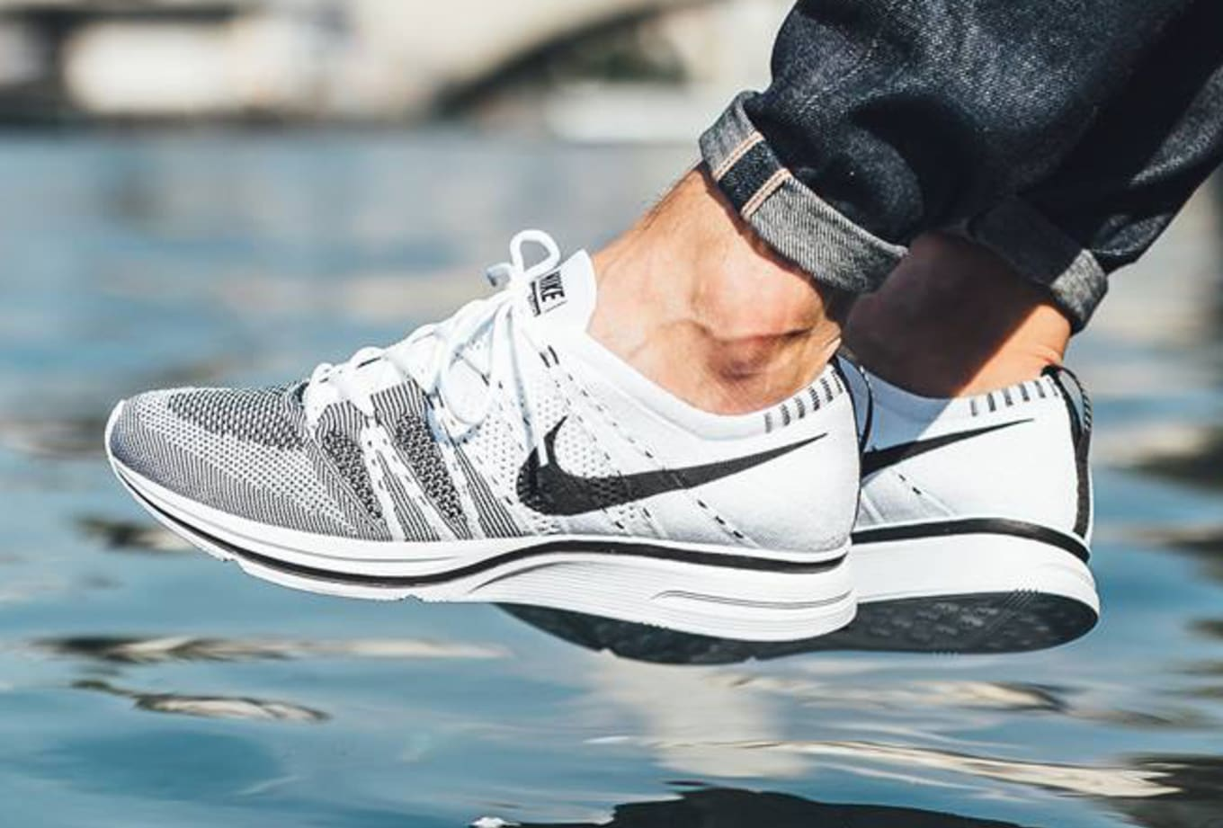 d8eb7f4f1f6 Nike Flyknit Trainers Return Next Week. See the white black pair on-feet  here.