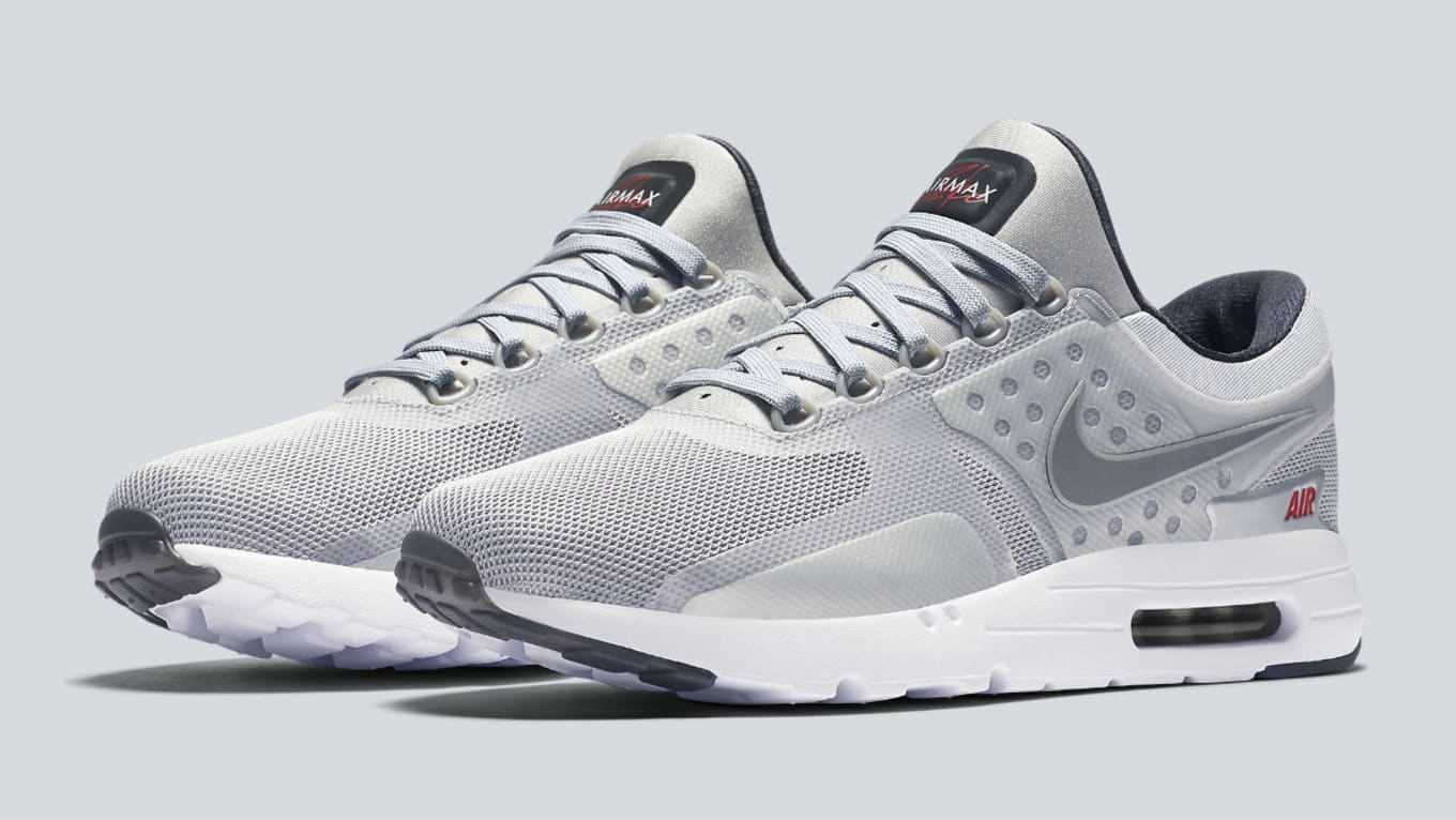 official photos 6c531 1f1ad Nike Air Max Zero Silver Bullet Release Date 789695-002 ...