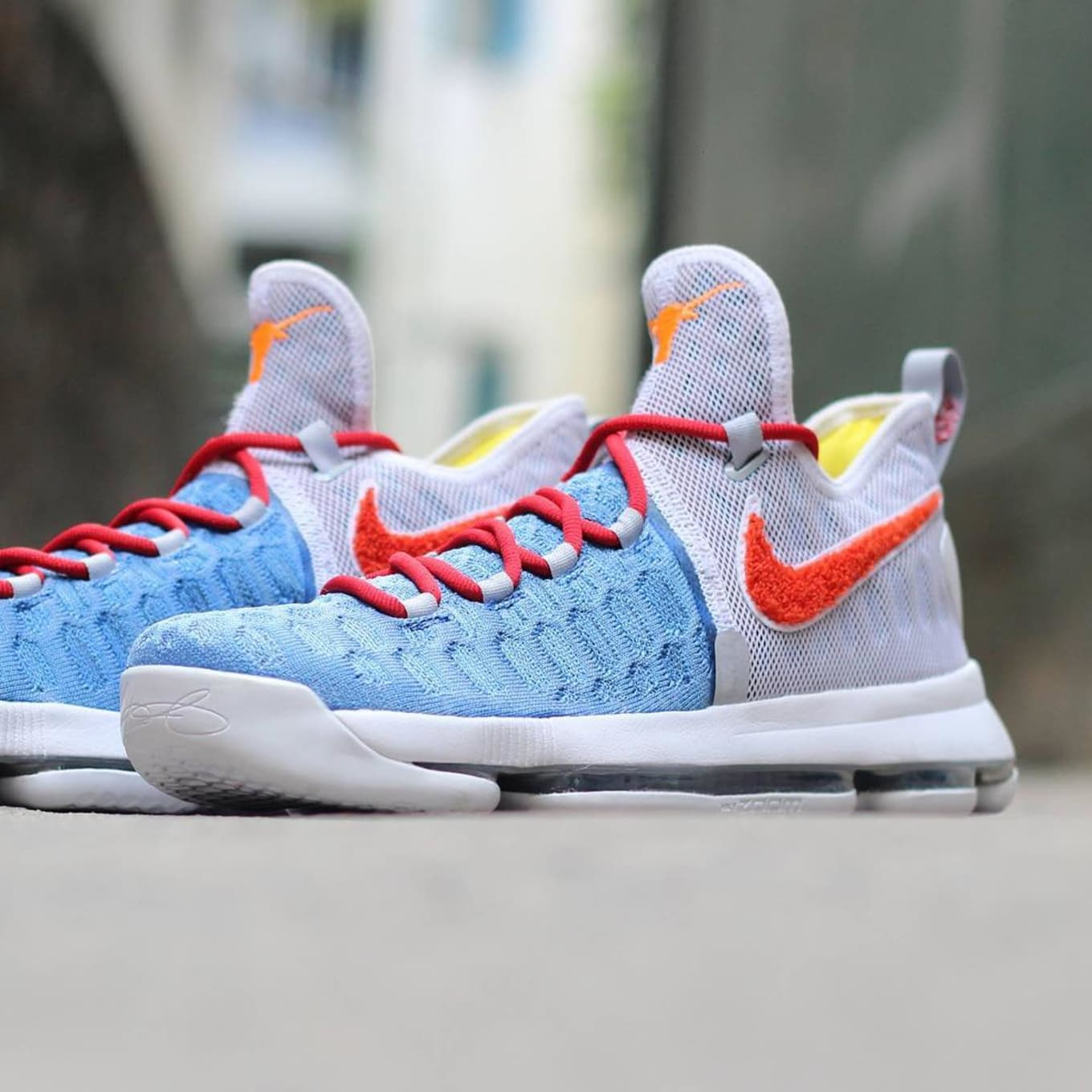 new product ecdb1 c54f7 A Completely Unexpected Nike KD 9 PE for the Texas Longhorns