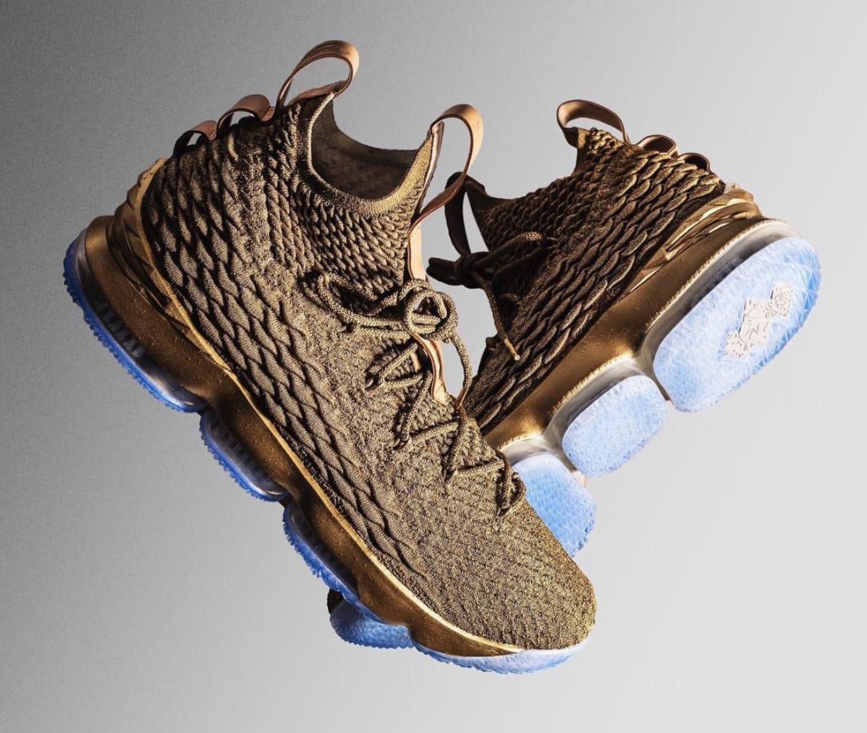 LeBron James Debuts Custom Nike LeBron 15s  6321f407e