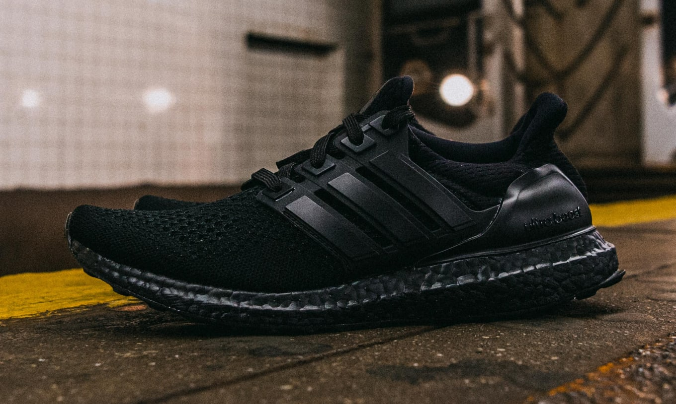 5aa893dcce0a8 Triple Black Adidas Ultra Boost Confirmed App