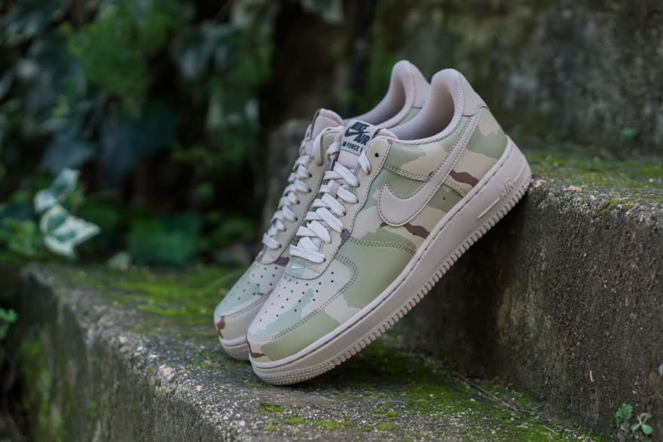 748d0ce21637d Reflective Camouflage Covers the Nike Air Force 1 Low. New release hitting  stores now.