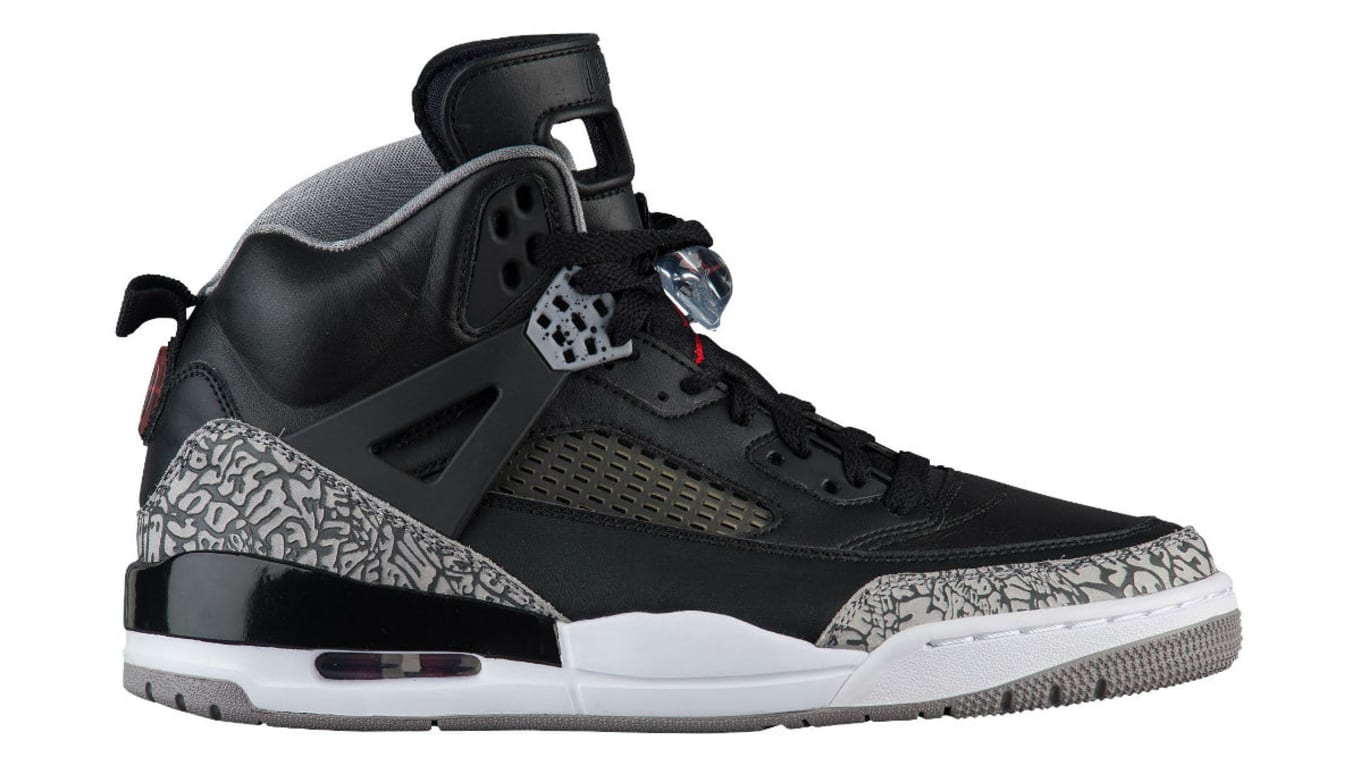 best service dd653 bcb22 Another OG-Inspired Jordan Spizike to Mark 10 Years. Release details for  the  Black Cement  colorway.