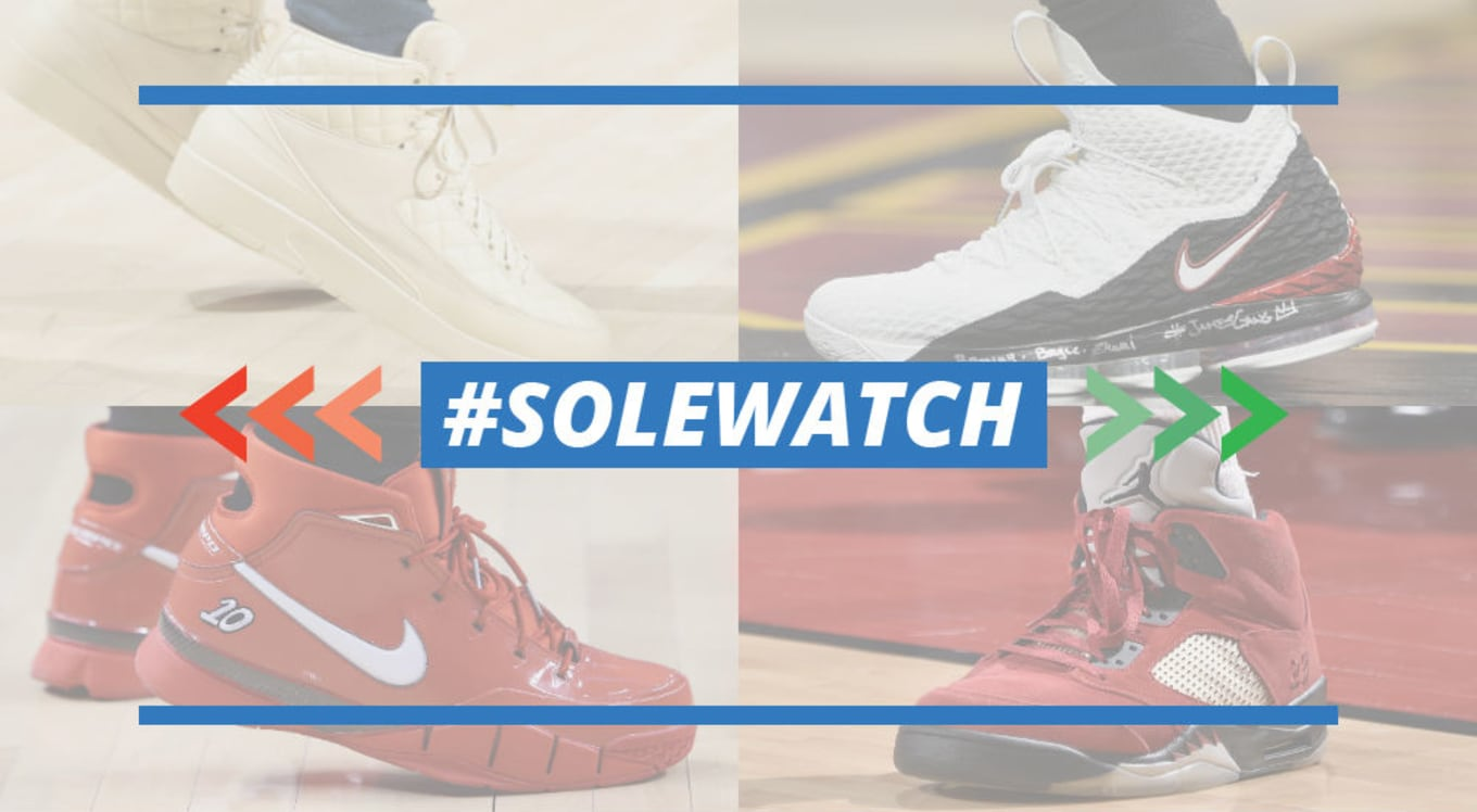best website 98e71 eb57c NBA  SoleWatch Power Rankings for April 8