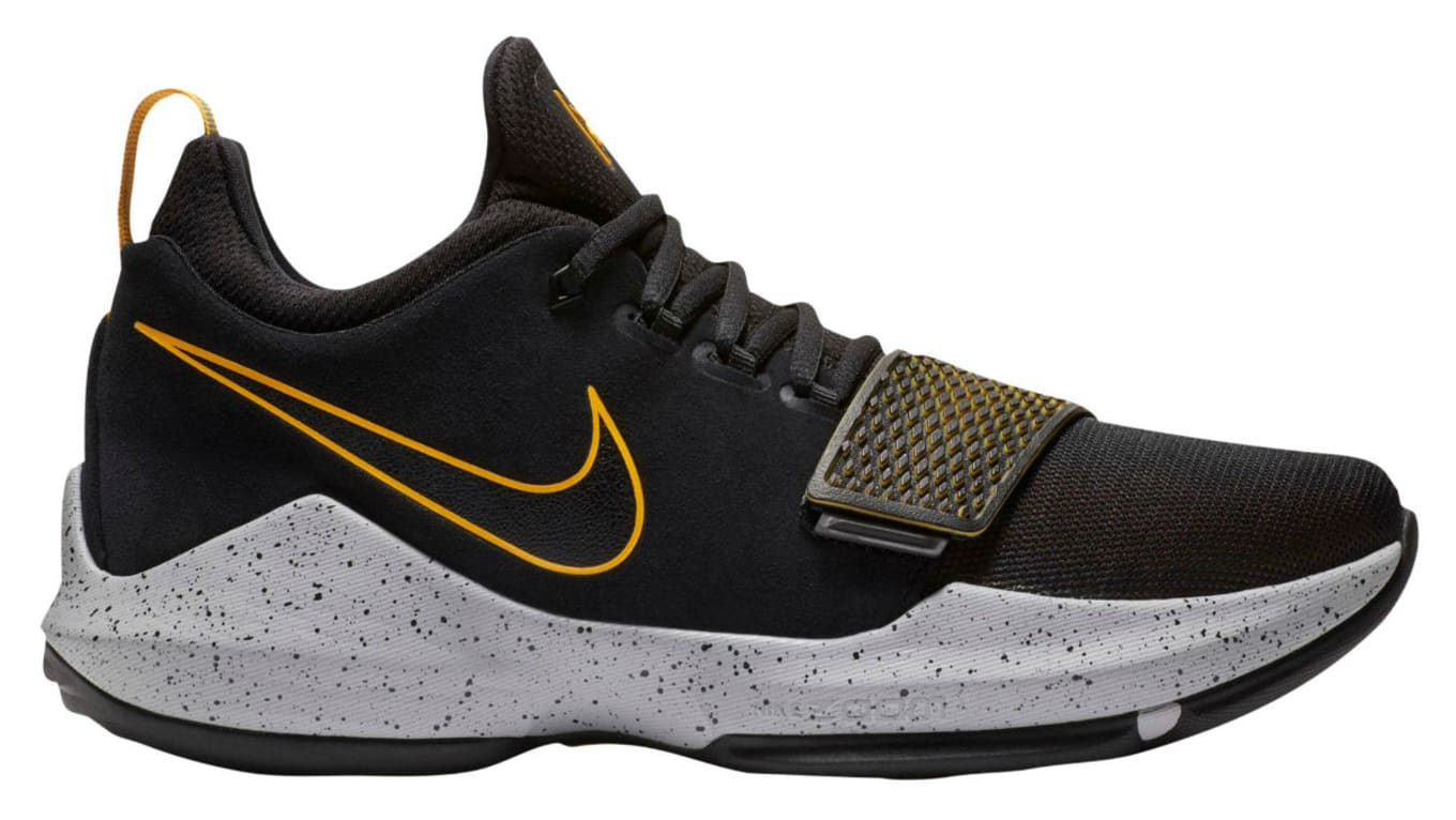 1b6e2e22b593 Nike PG1 Black University Gold Wolf Grey Release Date 878627-006 ...