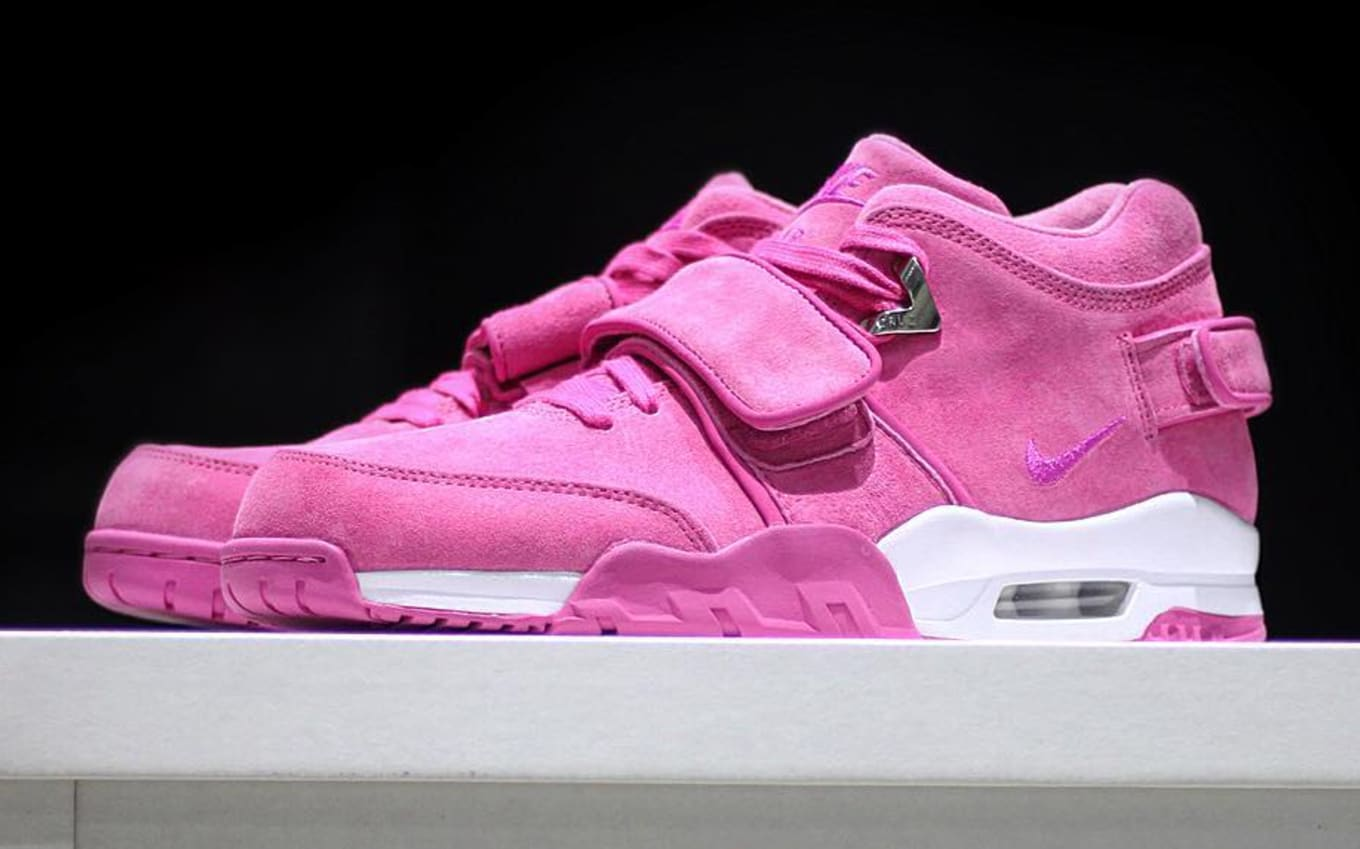 124741d79a27 ... Breast Cancer Awareness Nikes. Only 50 pairs of this special Air  Trainer Cruz releasing.