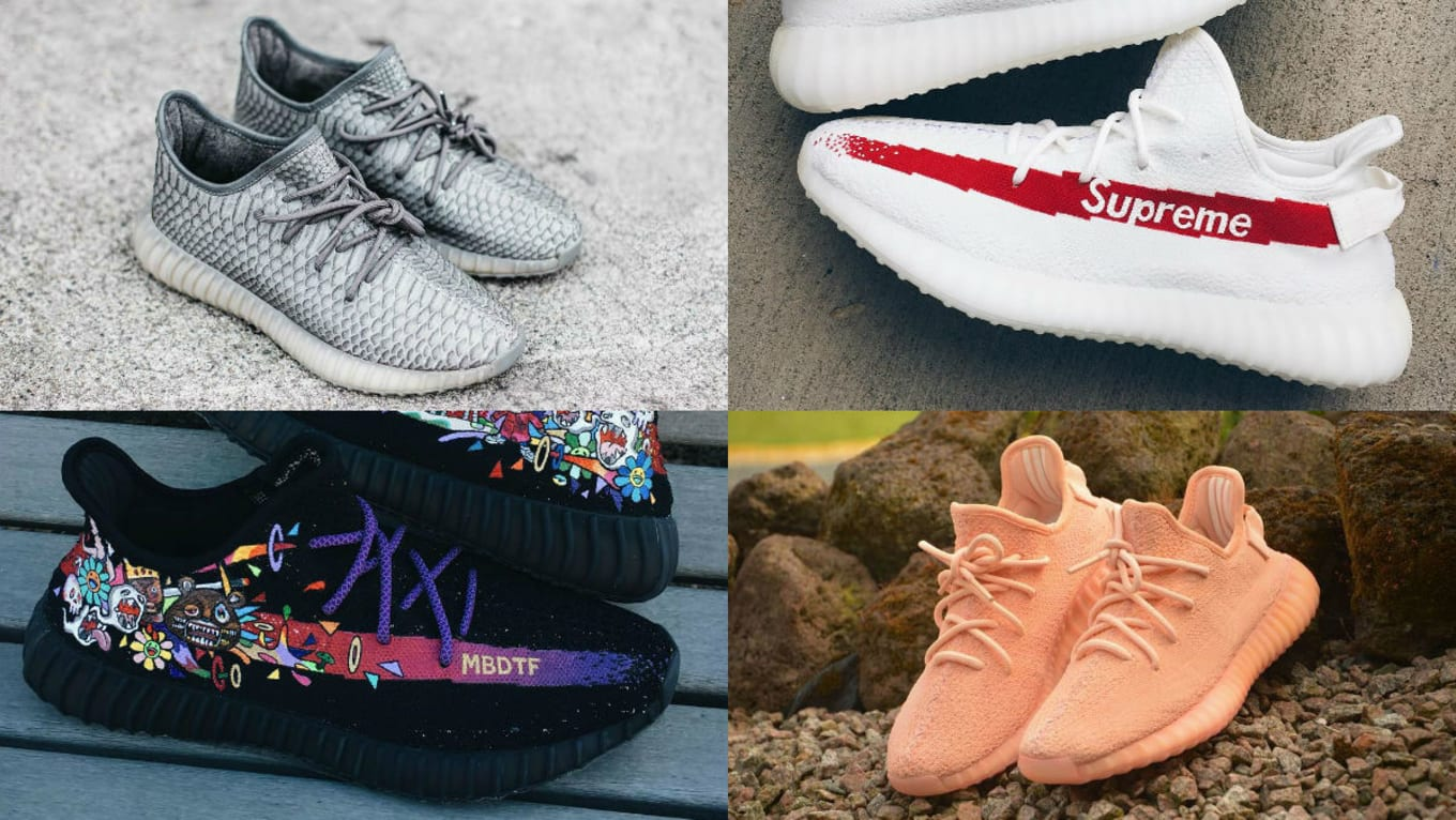 0e84fda42 The Best Adidas Yeezy 350 Boost V2 Customs