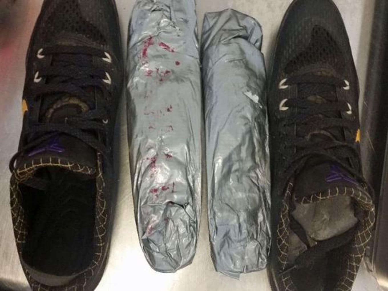 727c2605f9fc Kobe Sneakers Drug Smuggling