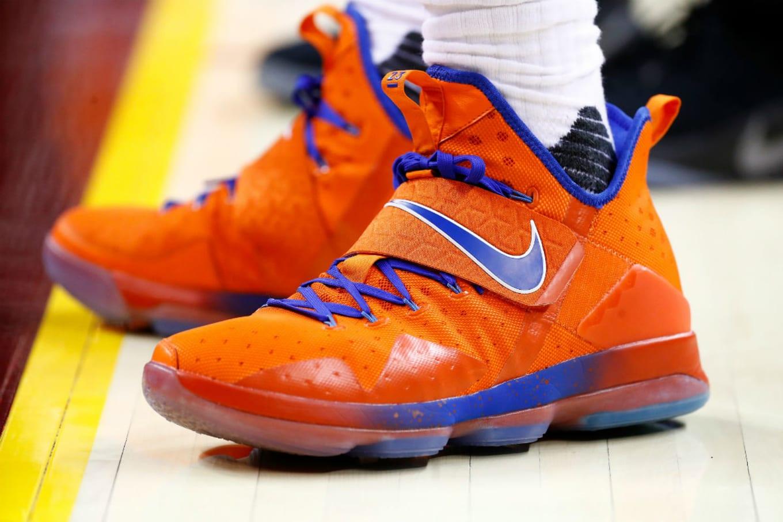 6210e1686e92e LeBron James Wearing the Nike LeBron 14