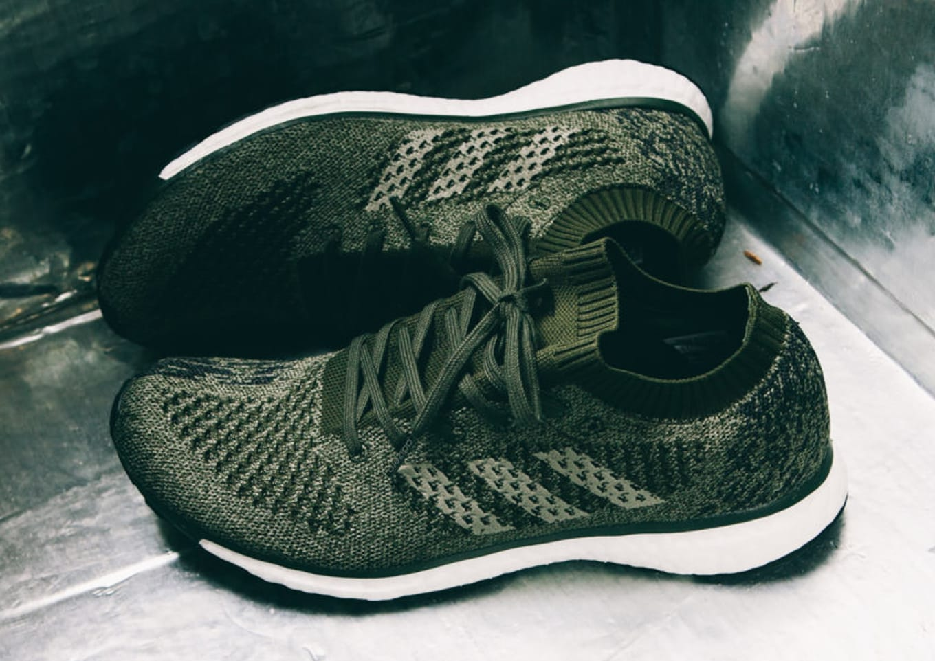 new product 73d3d 91cd7 Check out the olive colorway for the AdiZero Prime.