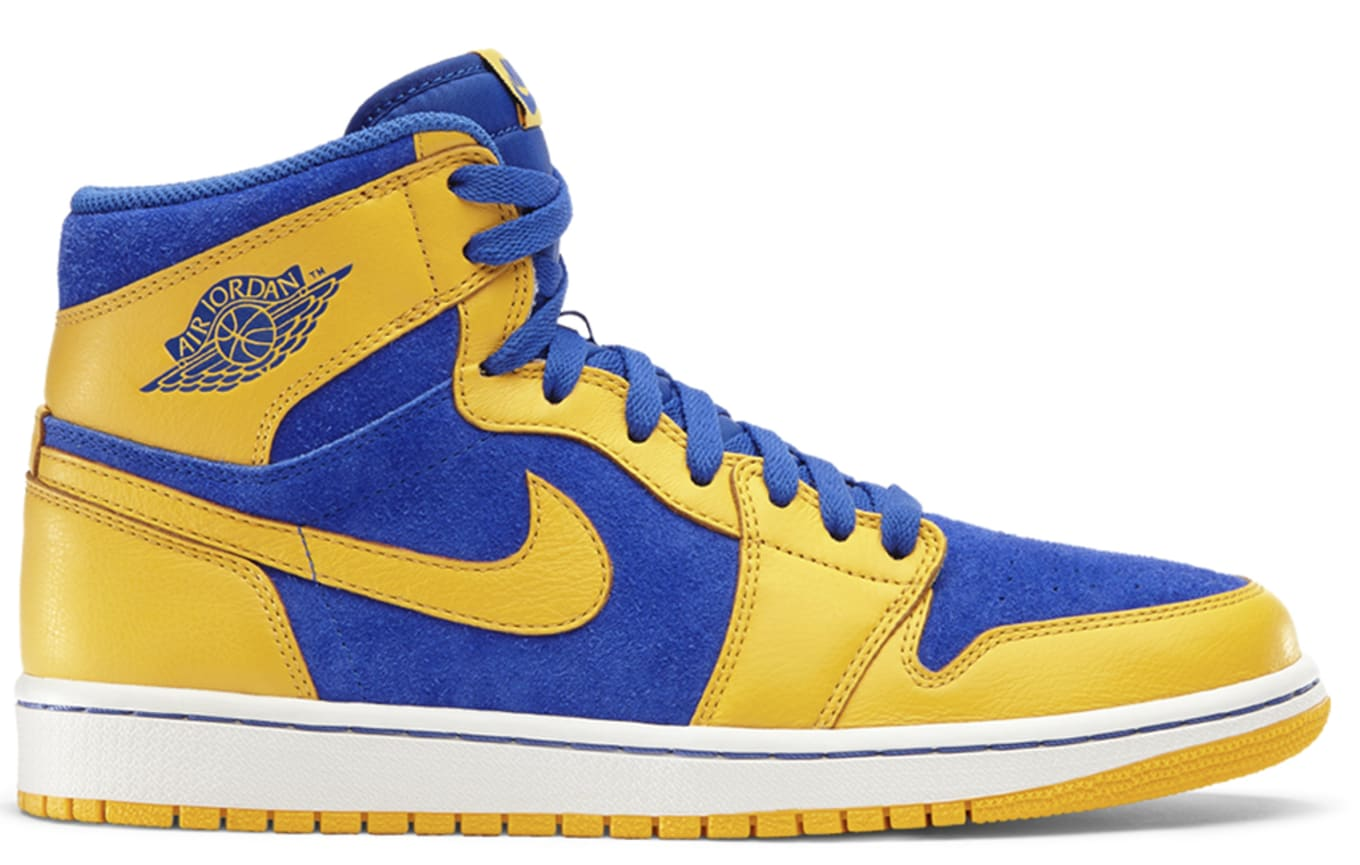 3d2eec17b41c81 Air Jordan 1 Retro High OG Varsity Maize Game Royal White