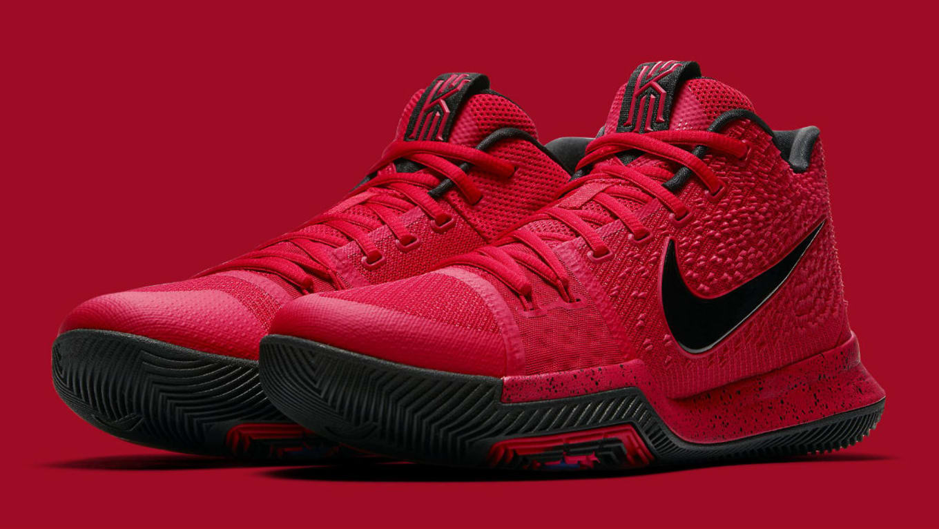 73e566a172561 Nike Kyrie 3 Three-Point Contest University Red Release Date 852395 ...