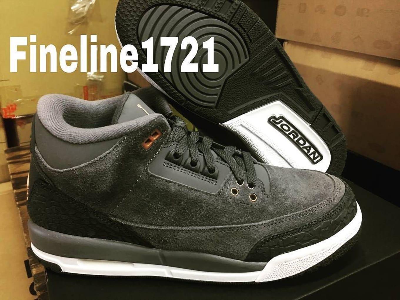 competitive price fad76 91e3c Air Jordan 3 Girls Anthracite Bronze Release Date 441140-035 ...