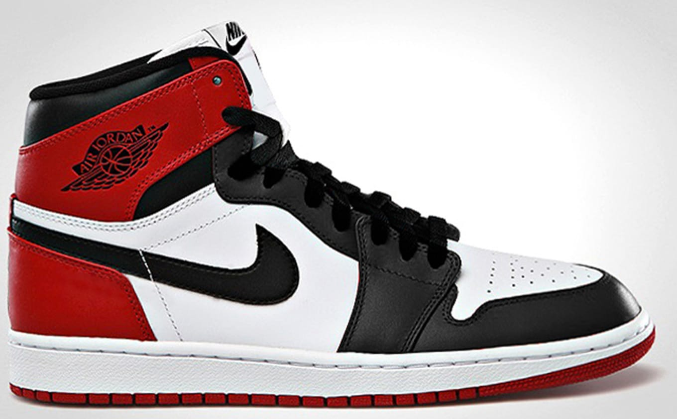 best website 3ad4b fdbda Air Jordan 1 Retro High OG White Black Varsity Red