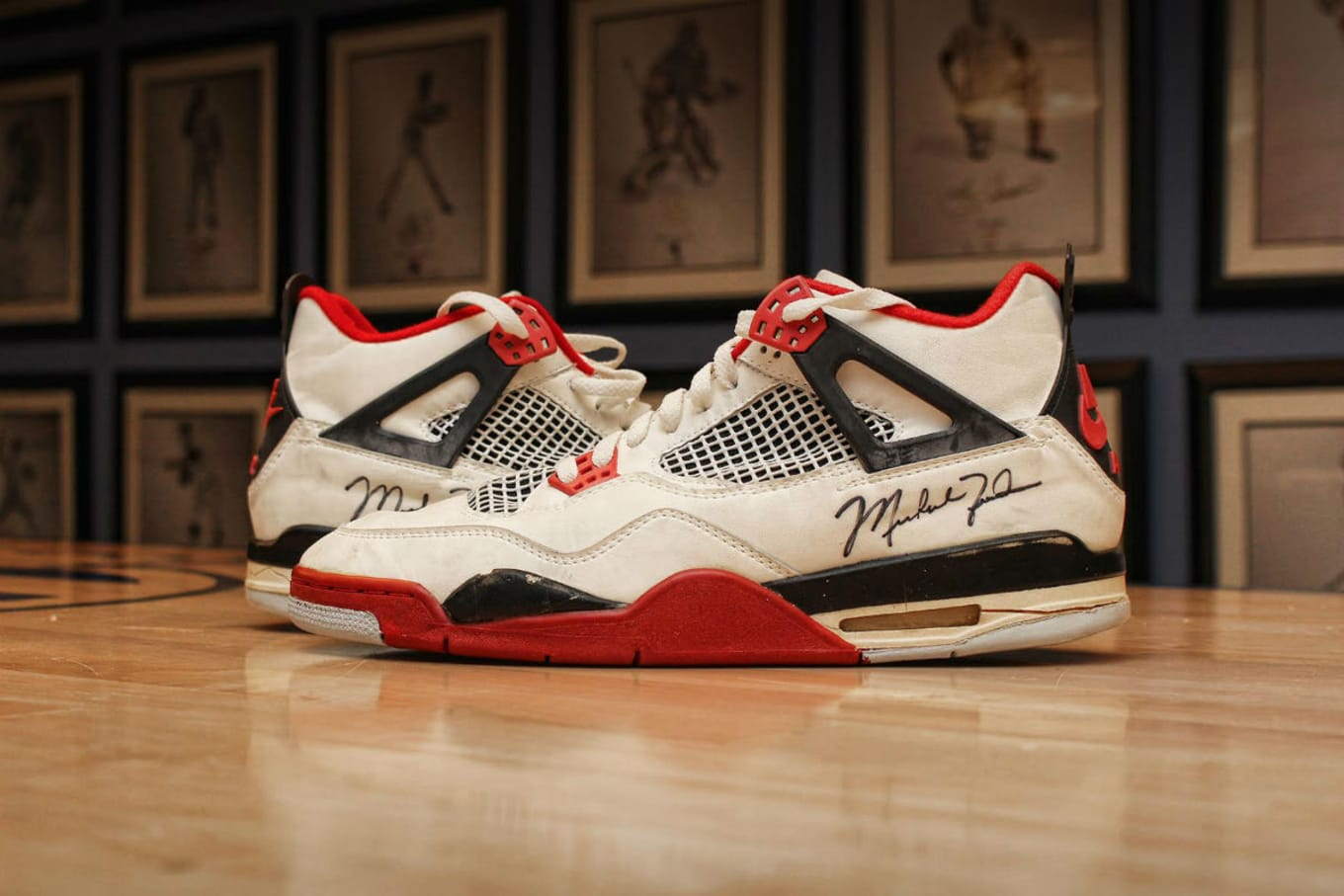 buy popular 6906f f83d3 Michael Jordan s Game-Worn Air Jordans From 1989 Are Up For Grabs.  Dual-signed