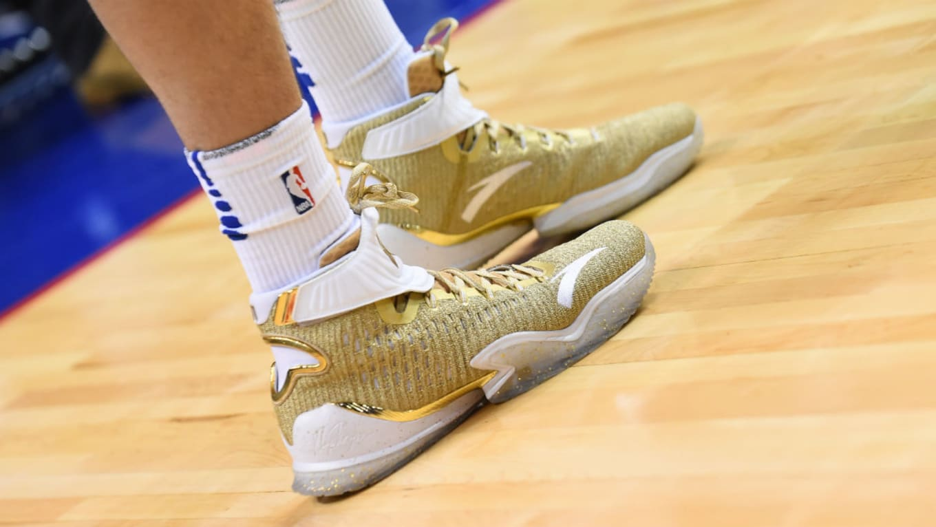 ced8f4f35ca6 ANTA KT3 Gold Blooded Klay Thompson Sneakers Release Date