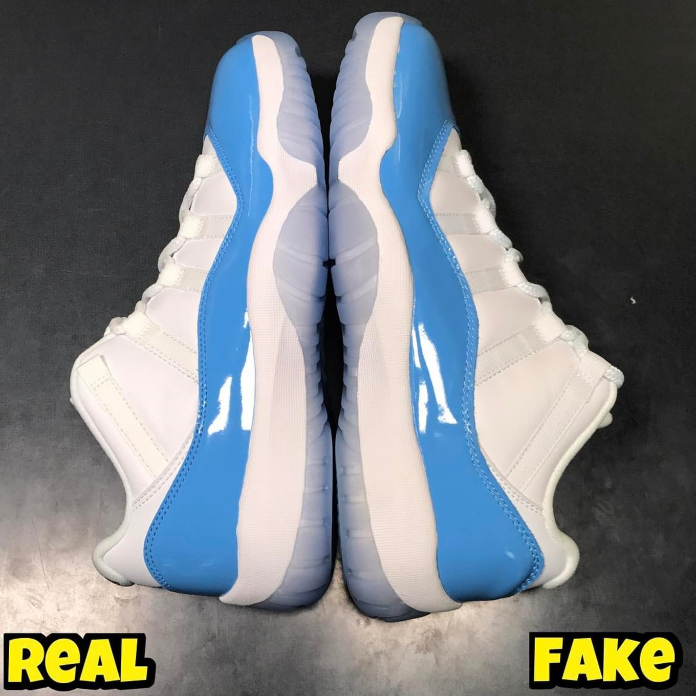 43948f71bee94e Air Jordan 11 Low UNC Real Fake Legit Check