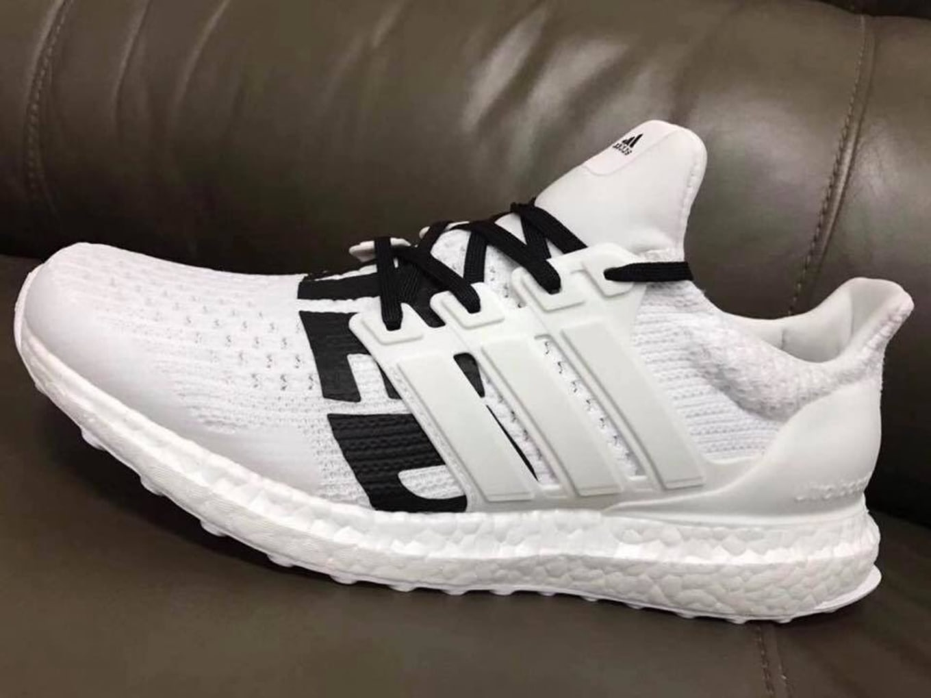 wholesale dealer bf95a 59db1 Undefeated Adidas Ultra Boost White Black | Sole Collector