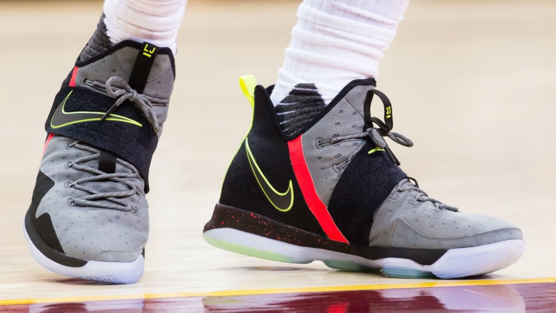 65e74817d916 LeBron James Wearing the Nike LeBron 14