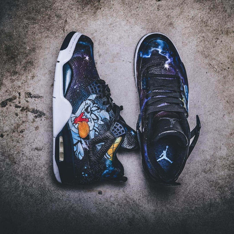 Space Jam Air Jordan Custom Sneakers  cf83608ac
