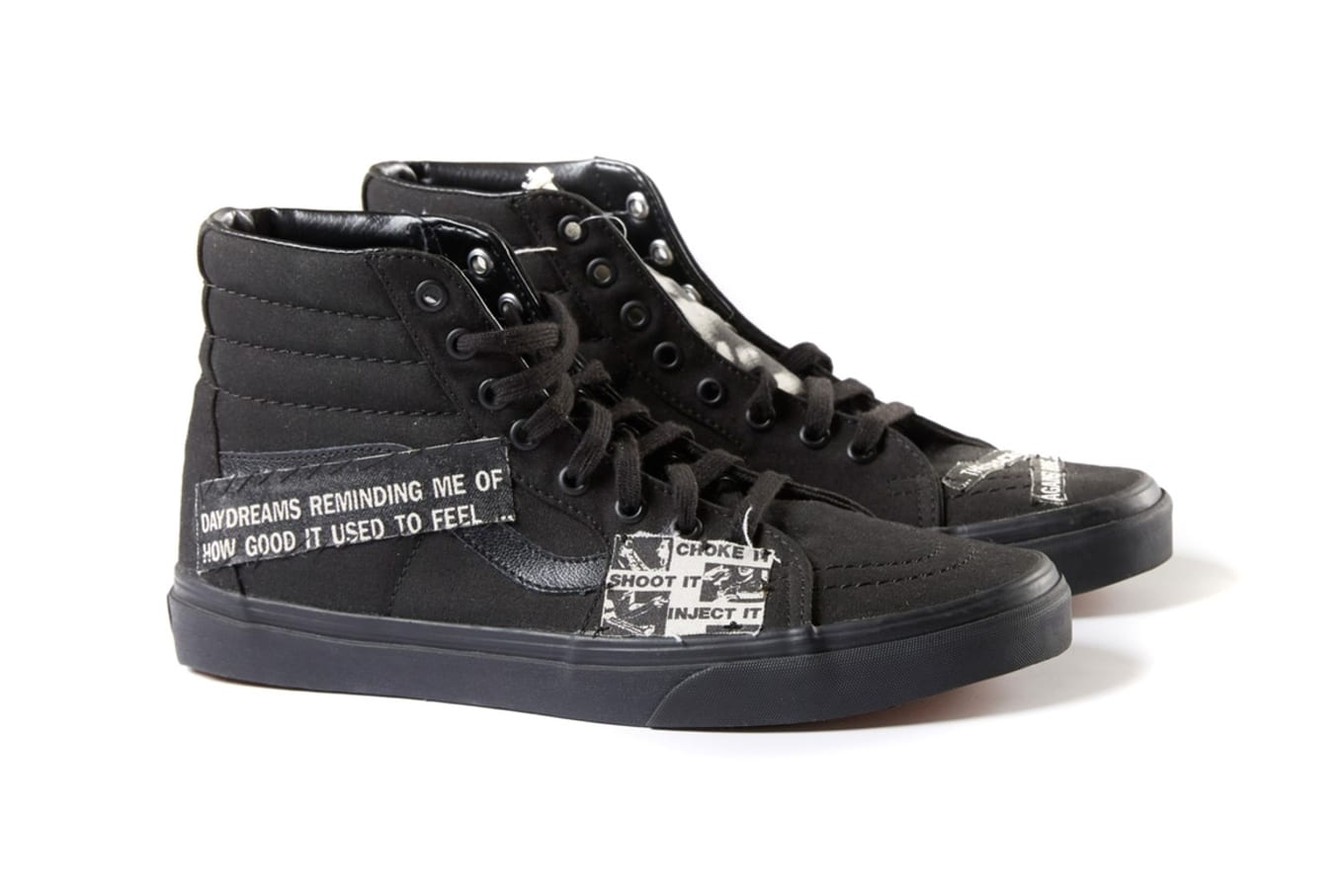 59152a01c7 Vans x Enfants Riches Déprimés Vans-Sk8 Hi Collaboration Release ...