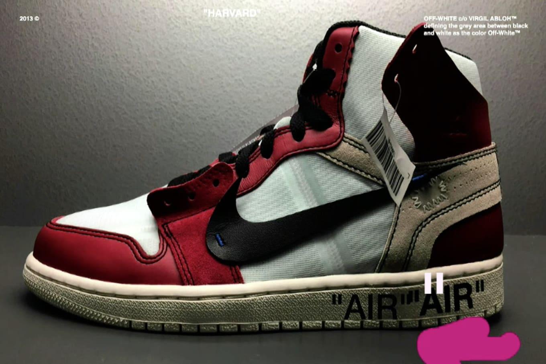 9be369f52358a2 Virgil Abloh Shares Unreleased Nike and Jordan Samples