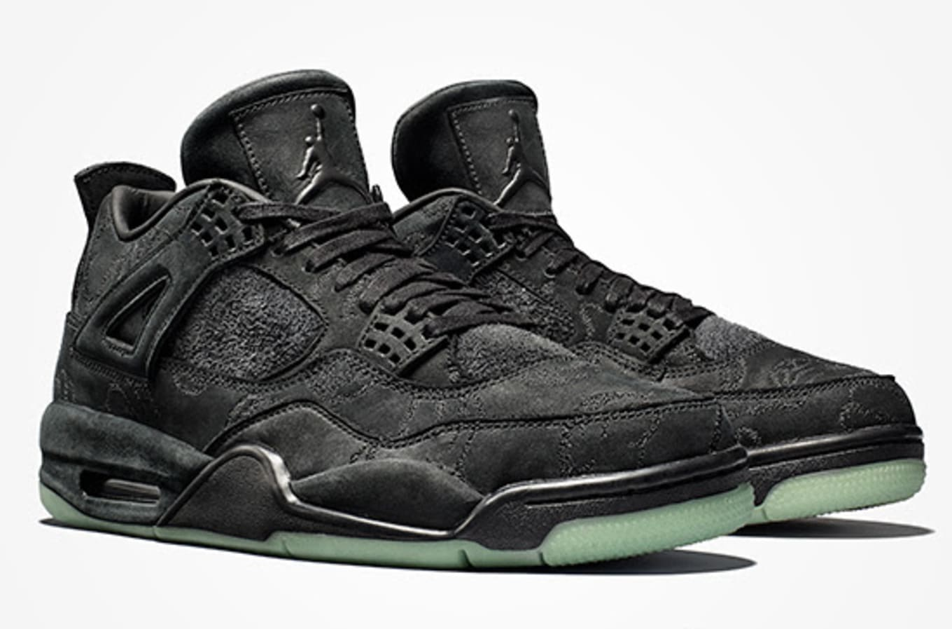 purchase cheap 2c377 9c75a Kaws Air Jordan 4 Black Resell Price | Sole Collector