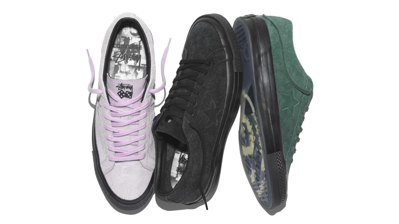 8a0377174058d2 Stussy x Converse One Star  74 Collection