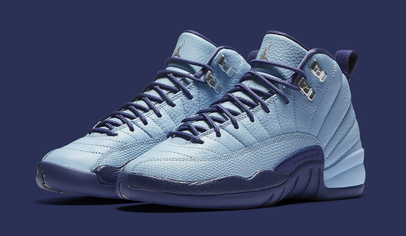 4d44b060590 A Hornets-looking Air Jordan 12 retro.