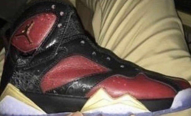 First look at the Doernbecher x Air Jordan 7. 2a3205096