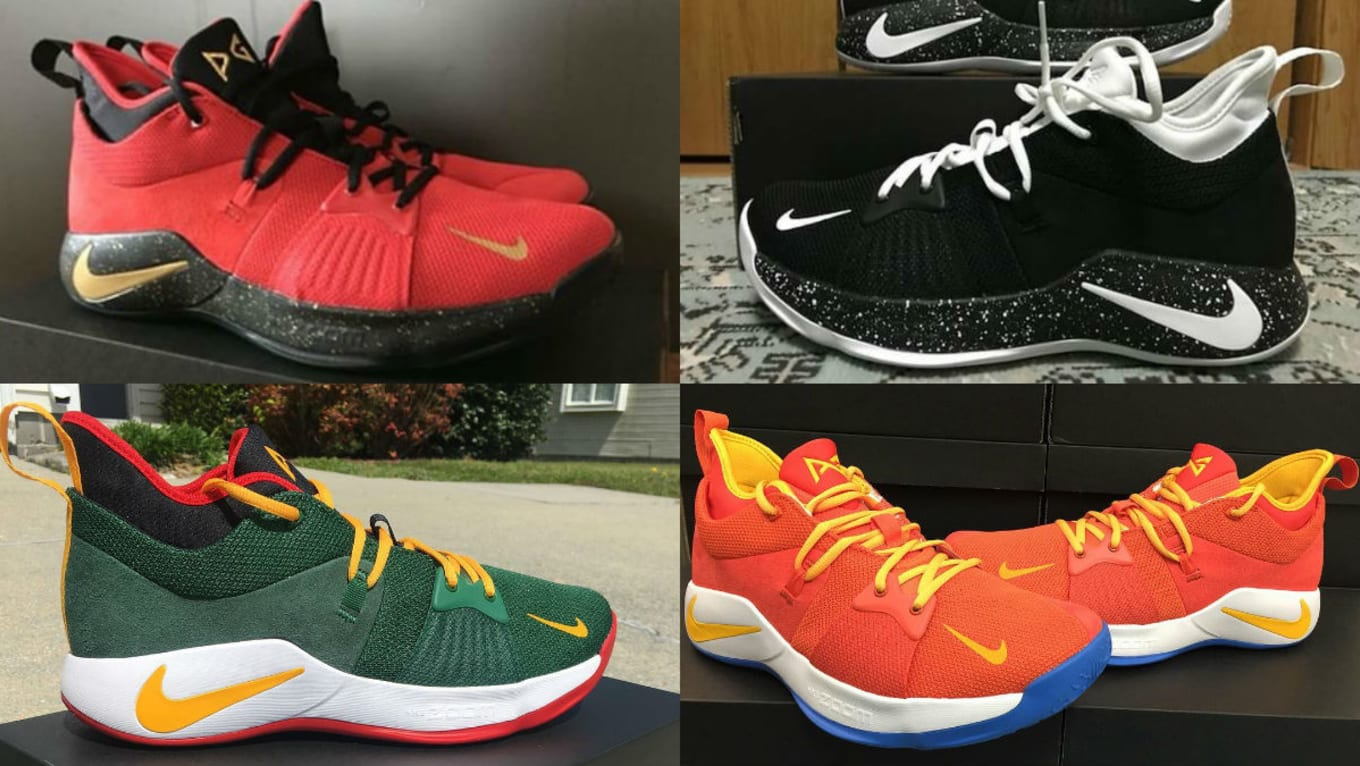 67e1b14c09e8 The 50 Best NIKEiD PG2 Designs. Paul George ...