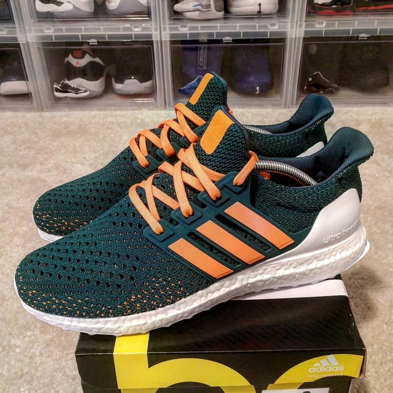 100% authentic 7740f 3013b sports shoes b76a8 c12dc ultra boost clima size 10 5 triple ...
