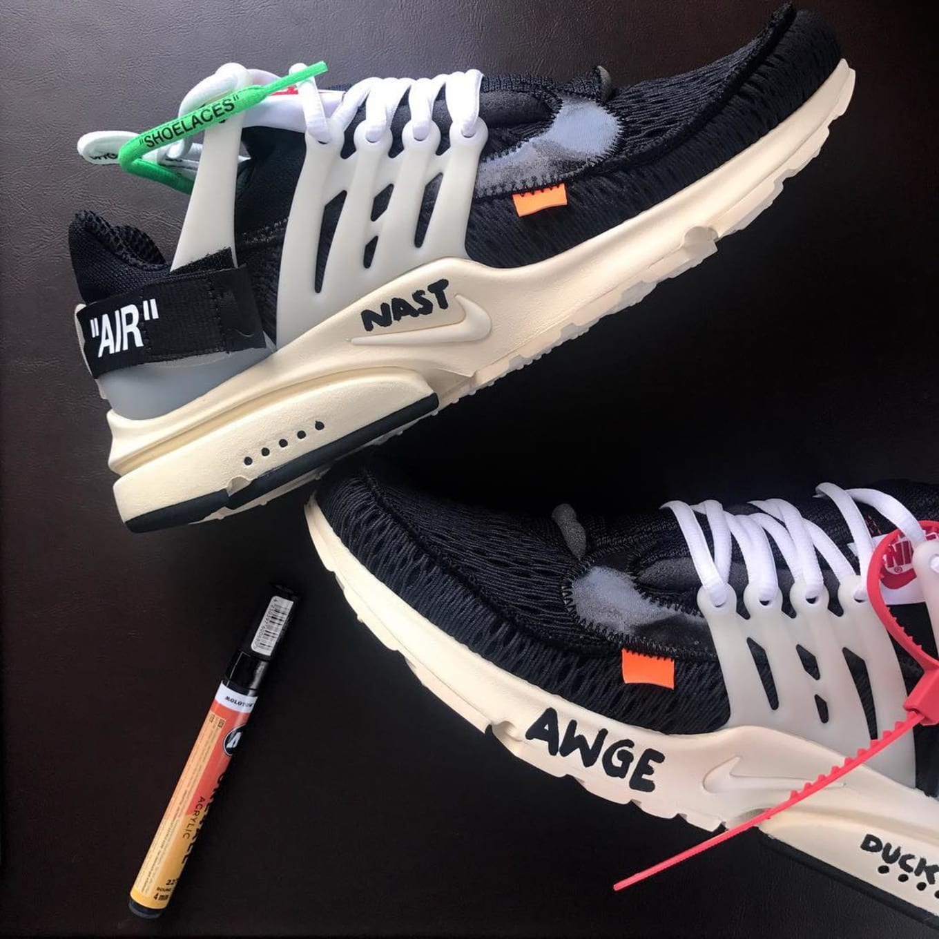 nike air presto x off white prezzo