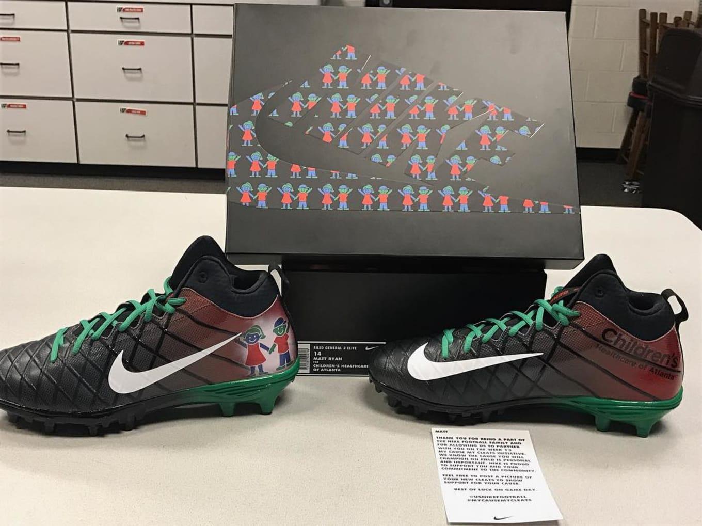 buy popular c0c7e 42f41 78. Matt Ryan. Image via ryan matt02. Team  Atlanta Falcons Cleats  Nike