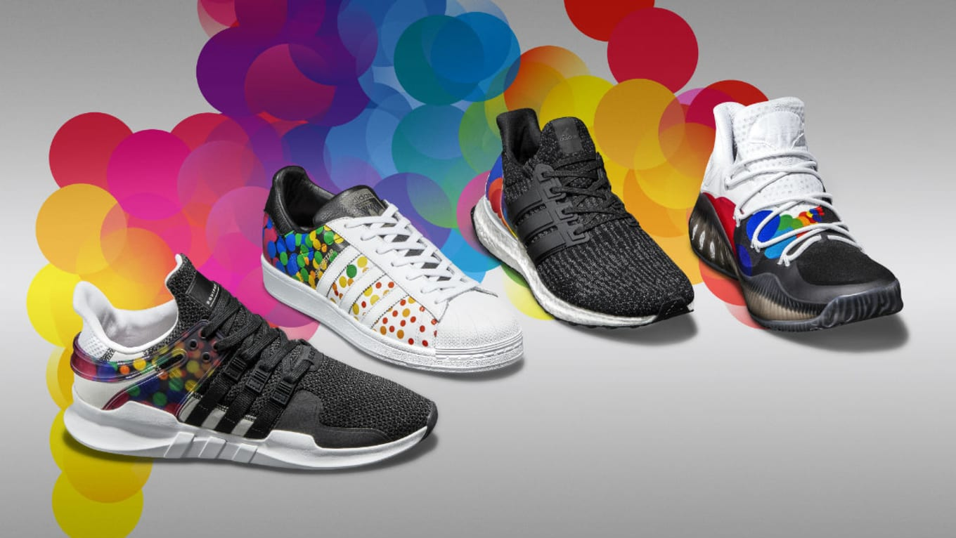 5dca389428c3b5 Adidas Pride LGBT Sneaker Collection 2017 Release Date