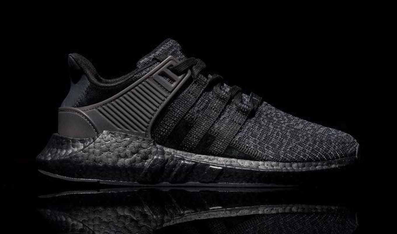timeless design 3f5ba b3214 Triple Black Adidas EQT Support 93 17 | Sole Collector