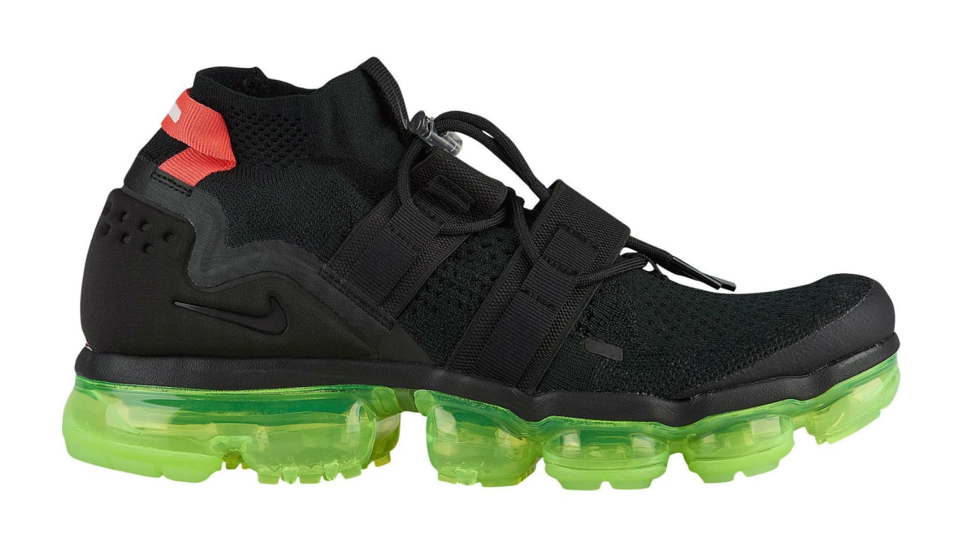 check out 3330a 4edf1 Nike Air VaporMax Flyknit Utility Yeezy Black Volt Crimson ...