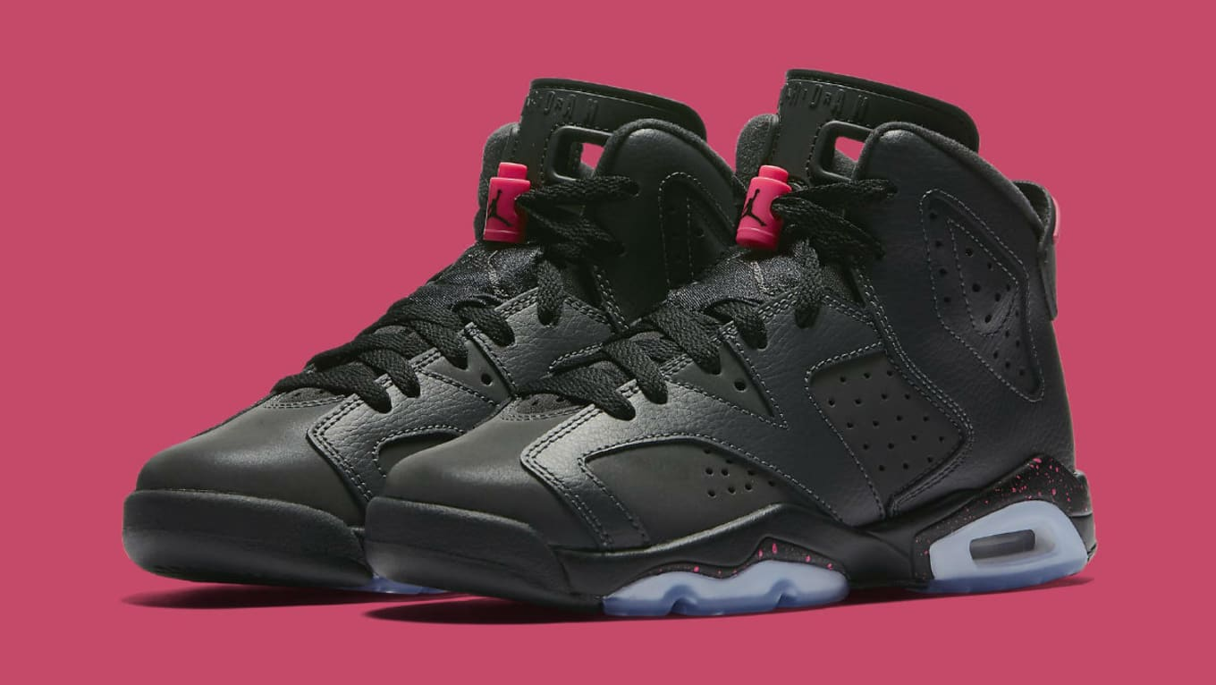 outlet online hot new products look for Air Jordan 6 GS Hyper Pink Release Date 543390-008 | Sole ...